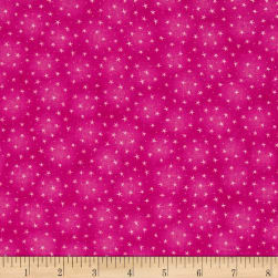 Starlet Star Pink Fabric