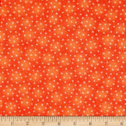 Starlet Star Papaya Fabric