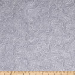Just Color Swirl Basic Pewter Fabric