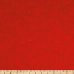 Just Color Swirl Basic Red Fabric