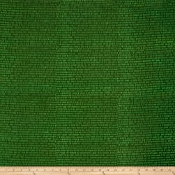 Modern Batiks Pencil Dashes Dark Green Fabric