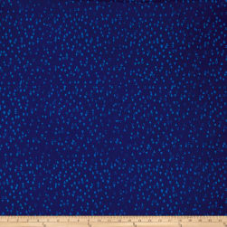 Modern Batiks Triangles Navy Fabric