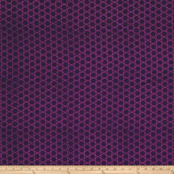 Modern Batiks Circles Purple Fabric