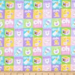 Comfy Flannel Prints Baby Patch Multi Fabric