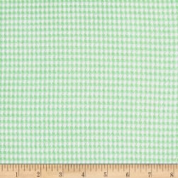 Comfy Flannel Prints Gingham Check Green