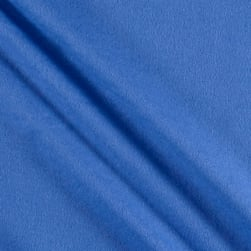 Comfy Flannel Solids Blueberry Fabric