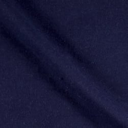 Comfy Flannel Solids Navy Fabric