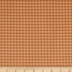 Chicks On The Run Gingham Coral Fabric