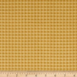 Chicks On The Run Gingham Marigold Fabric