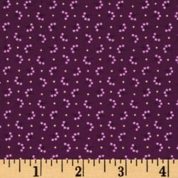 Modern Antiques Florets Plum Fabric