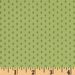 Modern Antiques Spinnings Green Fabric