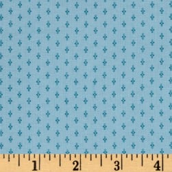 Modern Antiques Spinnings Teal Fabric