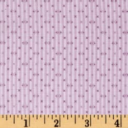 Modern Antiques Stripes Violet Fabric