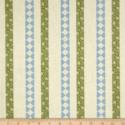 Modern Antiques Borders Teal Fabric
