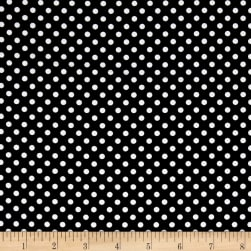 Kanvas Oops A Daisy Oops Dot Black Fabric