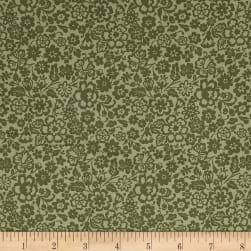 Abigail May Green Fabric