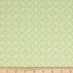 Contempo Winter Games Rings Lime Fabric