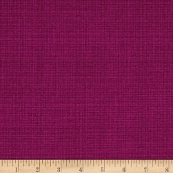 Contempo Modern Marks Color Weave Fuchsia Fabric