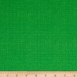 Contempo Modern Marks Color Weave Kelly Green Fabric