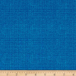 Contempo Modern Marks Color Weave Electric Blue Fabric