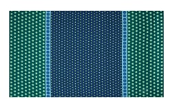 Contempo Dot Crazy Playground Teal Fabric