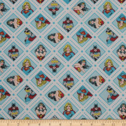 DC COMICS ll Super Women Topaz Fabric