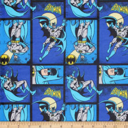 DC COMICS ll Batman Flannel Royal