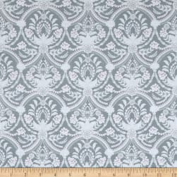 Laura Ashley Grace Damask Almieda Grey