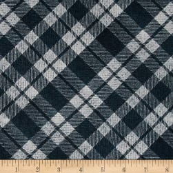 Kanvas Into the Woods II Flurry Plaid Teal