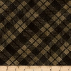 Kanvas Into the Woods II Flurry Plaid Brown