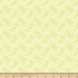 Benartex Homestead: Colonial Lace Lime Fabric