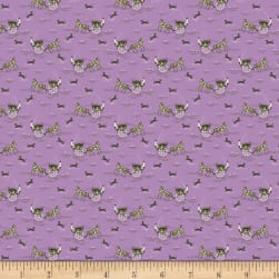Benartex Homestead: Country Carriage Violet Fabric