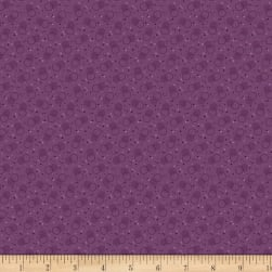 Benartex Homestead: Country Bubble Purple Fabric
