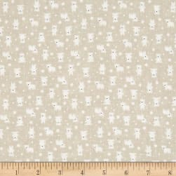 Lecien Minny Muu Polar Bears Fog Fabric