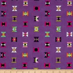 Tula Pink Spirit Animal Arrowheads Lunar Glow Fabric