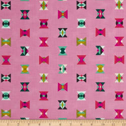 Tula Pink Spirit Animal Arrowheads Star Light Fabric