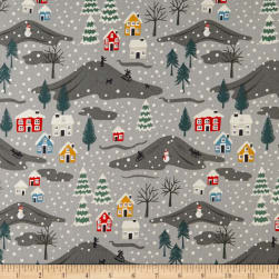 Lewis & Irene Snow Day Scene Pearlized Accent