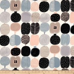 Marimekko Kompotti Cotton Grey-Multi Fabric
