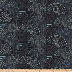Marimekko Vuorilaakso Cotton Grey Fabric