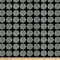 Marimekko Puketti Cotton Black Fabric