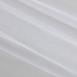 Shiny Tulle White (bolt, 25 yards) Fabric