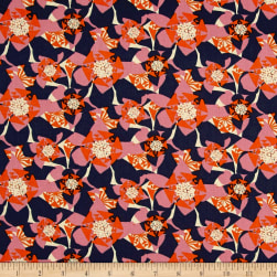 Amy Reber Jitterbug Carolina Jessamine Fabric
