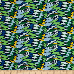 Amy Reber Jitterbug Sasafras Chicory Fabric