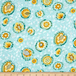 Dena Designs Bohemia Majorelle Lotus Fabric