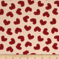 Designer Essentials Boston Commons Quincy Red Fabric