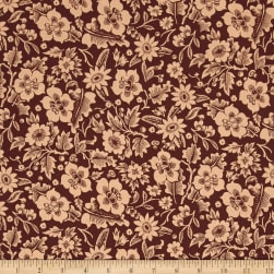 Designer Essentials Boston Commons Mayflower Brown Fabric