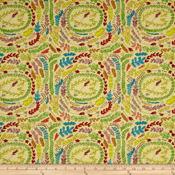 Laura Heine The Dress Fern Yellow Fabric