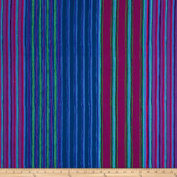 Kaffe Fassett Fall 2017 Regimental Stripe Blue Fabric