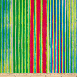 Kaffe Fassett Fall 2017 Regimental Stripe Green Fabric