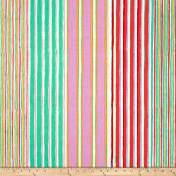 Kaffe Fassett Fall 2017 Regimental Stripe Pastel Fabric